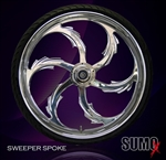 Sumo-X Sweeper Front Wheel
