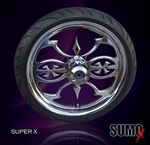 Super X  Wheel custom motorcycle wheel