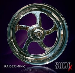 Mimic rear wheel