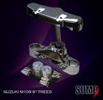 Suzuki m109r 9 Degree triple trees (26in wheel app)