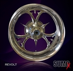 Revolt Custom Billet motorcycle wheel